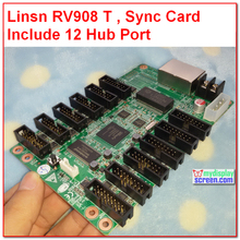 linsn studio RV908,receiver card RV908M32, 32S,1024 * 256,rv801,full color rgb control system /linsn led display receiving card(China (Mainland))