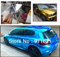 2PCS 1.52*60CM Germany Material Mirror Car Carbon Fiber Chrome Film Aluminum Phone Notebook Sticker Cover Air Channel