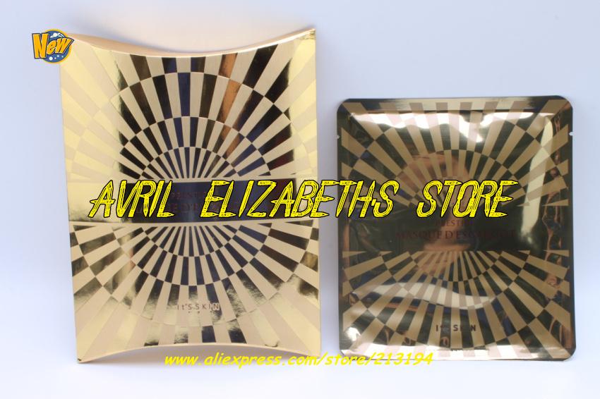 South Korea It's Skin Prestige Masque D'escargot Face Mask 5piece=1set=1lot Snail Essence - Avril Elizabeth's Store store