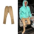 Hip Hop Streetwear Chinos Trousers Jogger Urban Clothing Mens Jumpsuit Men Justin Bieber Casual Fashion Khaki