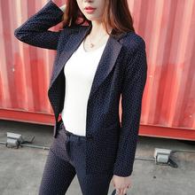 New Fashion Slim Casual Business Wear Elegant Women Office OL Jacket Set Formal Blazer + Pants Suit Feminino Female