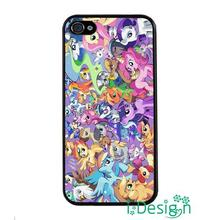 Fit for Samsung Galaxy mini S3/4/5/6/7 edge plus+ Note2/3/4/5 cellphone case cover My Little Pony Marks Unicorn Family Crew