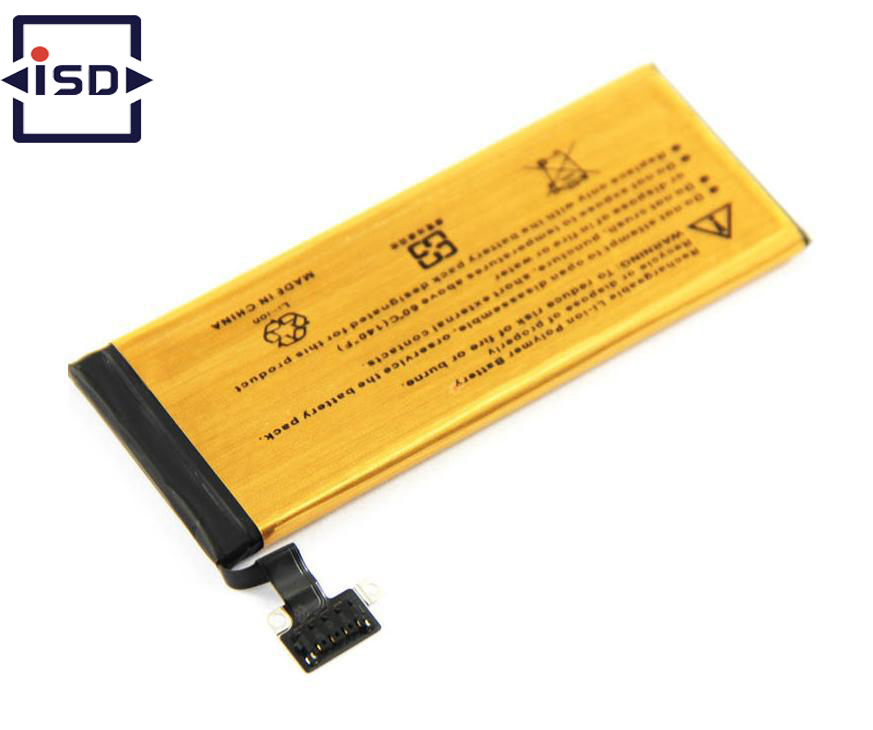 High Capacity Gold Li-ion Battery Mobile Phone For IPHONE iphone 5 2680mAh Lithium polymer with tools for free shipping