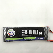 Buy MOS 2S lipo battery 7.4v 3800mAh 40C rc helicopter rc car rc boat quadcopter Li-Polymer battey free for $19.70 in AliExpress store