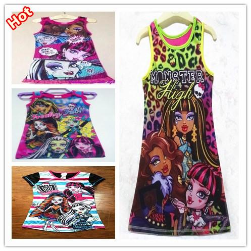 Платье для девочек 2015 vestidos roupas infantil meninas dress002 комплект одежды для девочек roupas infantil meninas 2015 2pc minnie