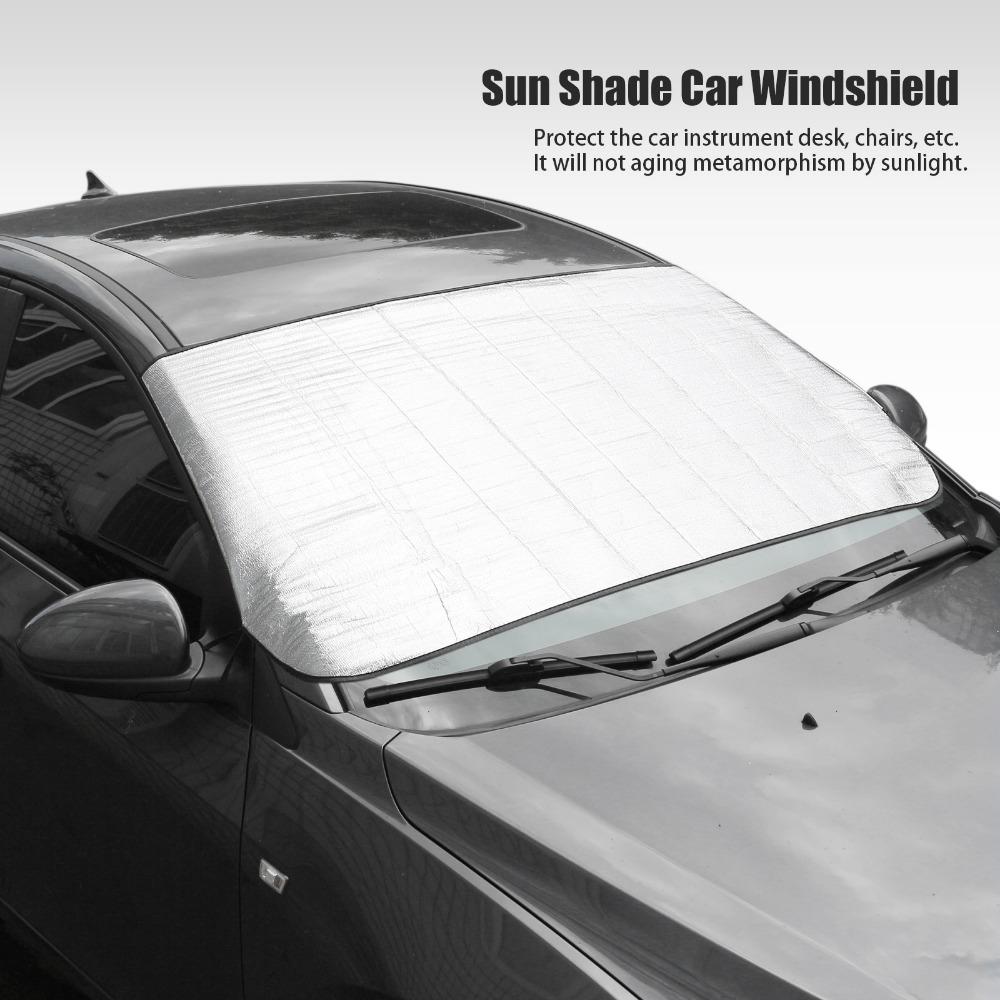 New Arrival Window Foils Sun Shade Car Windshield Visor Cover Block Front Window Sunshade UV Protect Car Window Film Car Styling(China (Mainland))