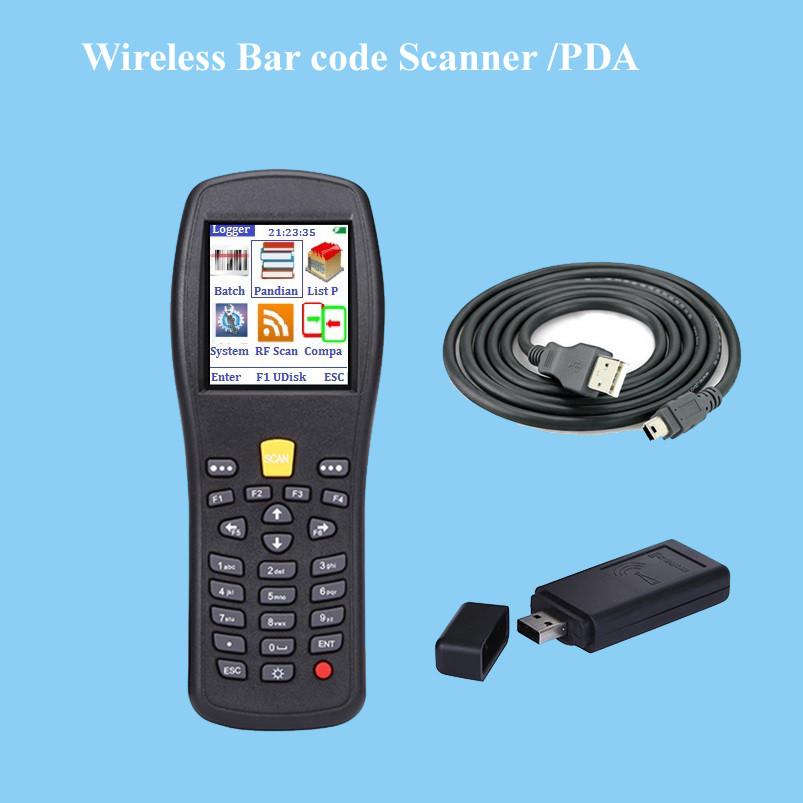 Bar code handheld terminal PDA for supermerket POS system and warehouse, laser wireless bar code scanner, bar code reader X3(China (Mainland))