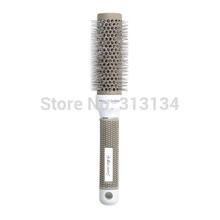 1pc 32mm Ceramic Ionic Round Comb Barber Hair Dressing Salon Styling Brush Barrel Hairbrush(China (Mainland))