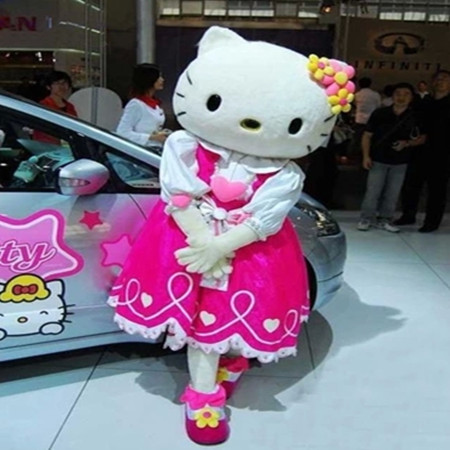 High quality hello kitty mascot hellokitty mascot costume hello kitty fancy costume cosplay carnival costumeОдежда и ак�е��уары<br><br><br>Aliexpress