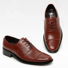 new genuine leather men oxfords shoes fashion solid lace up business male shoes low top ankle men wedding shoes plus size eur 47