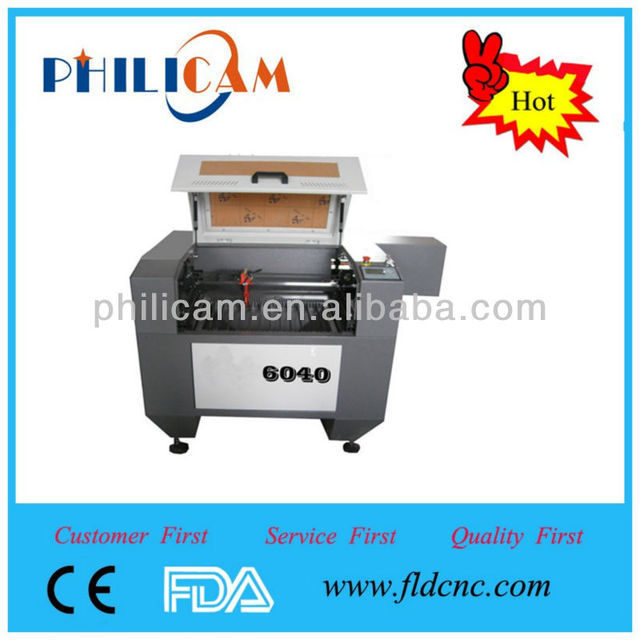 Latest product 6040 laser cutter for acrylic fabric