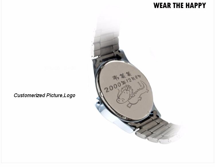 Бренд Время История Против часовой стрелки Классическая Мода Часы Мужчины Повседневная Бизнес Кварцевые Наручные часы Из Нержавеющей Стали Ремешок Водонепроницаемый