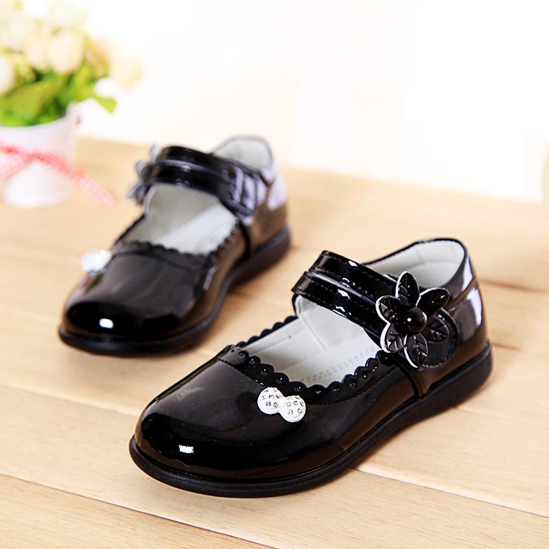 Кожаная обувь для девочек ,