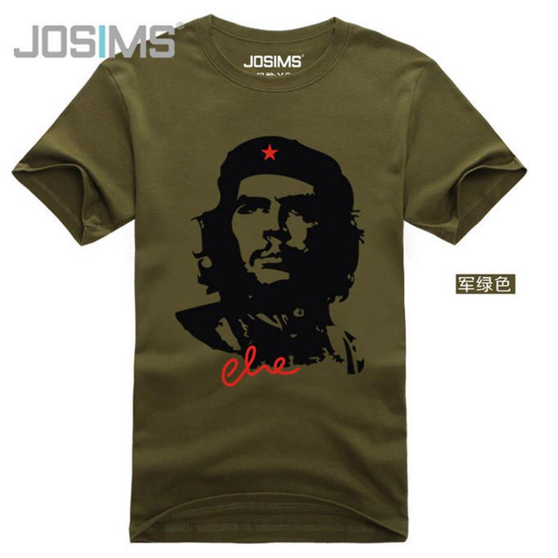 Mens t shirts fashion fashion che guevara short sleeve for Che guevara t shirt