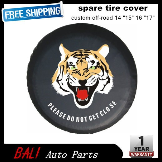 Free shipping Factory direct sale PVC car spare wheel cover spare tire cover for SUV 4WD RF-CY-13(China (Mainland))