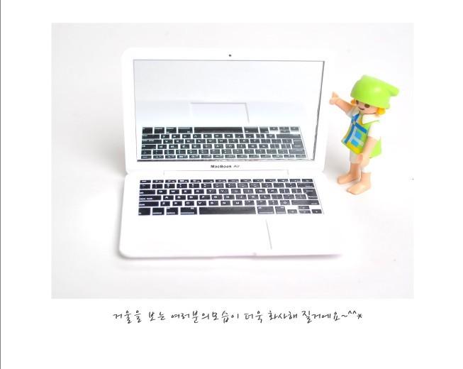 2016 NEW doll home BJD scene MINI laptop computer laptop simulation doll equipment for barbie doll