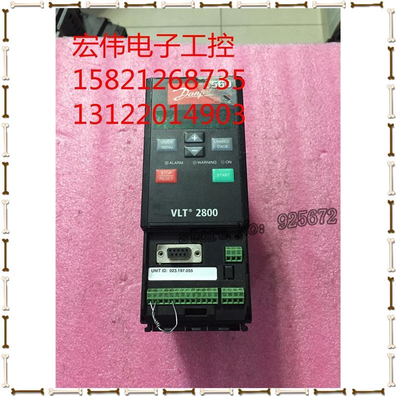Danfoss frequency converter VLT2800 VLT2807PD2B20STR0DBF00A00C1 0.75 KW 220 v(China (Mainland))