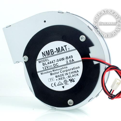 New 11028 12V 2A turbine centrifugal fan blower BL4447 04W B49 110 110 28mm