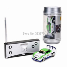 New Mini Coke Can RC Radio Remote Control Micro Racing Car Hobby Vehicle Toy Birthday Gift(China (Mainland))