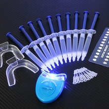 New Dental Equipment Teeth Whitening 44% Peroxide Dental Bleaching System Oral Gel Kit Tooth Whitener(China (Mainland))