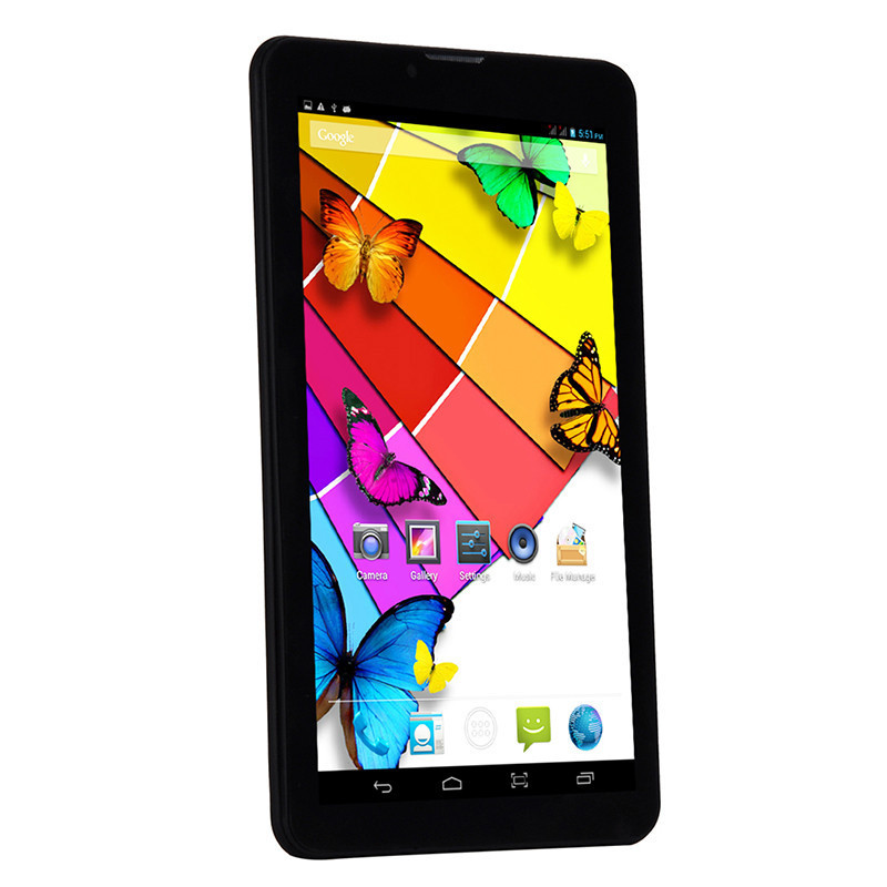 7 inch android lenovo 3G Tablet PC Dual Core 1G RAM 8G ROM WCDMA Dual SIM Phone Call GPS Bluetooth play store download free app(China (Mainland))