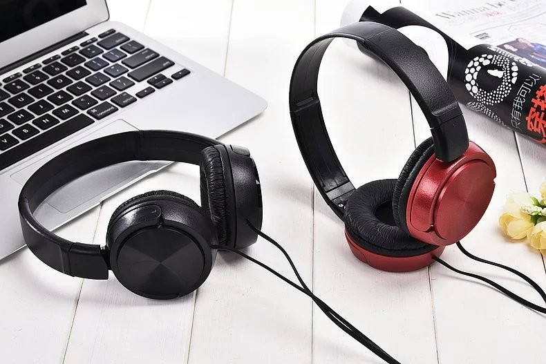 New MDR-310 4 Colors Adjustable Stereo Headphones Gaming Headset  Matte Finish for Mobile phone Computer PC Gamer