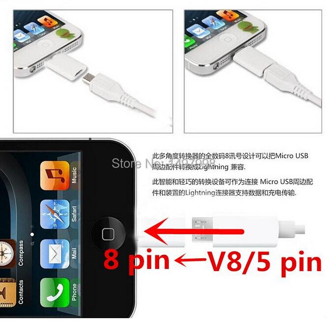 Адаптер для мобильных телефонов For iphone 6 100% 8 5 Iphone 5c 5s 6 6plus Ipad 4; Ios 8.0 чехол для для мобильных телефонов cy apple iphone 4 4 g 4s 5 5 g 5s 5c 6 6 for 4 4s 5 5s 5c 6 or 6plus