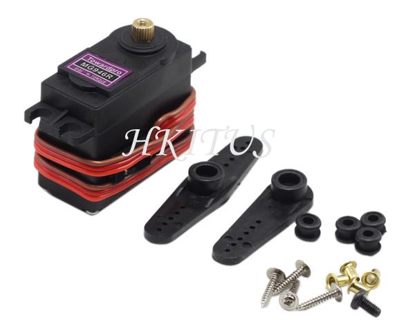 Mg946r metal gear high torque ball bearing mg946 digital for Rc car servo motor