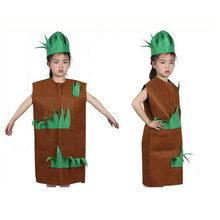 Модное детское маскарадное платье унисекс Детский костюм с рисунком фруктов и овощей праздничный наряд Одежда для выступлений для мальчик...(China)