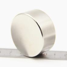 1 шт. супер мощный сильным массовая маленький круглый NdFeB неодимовые магниты дисковые диаметром 40 мм x 20 мм N50 редкоземельных неодимовый магнит