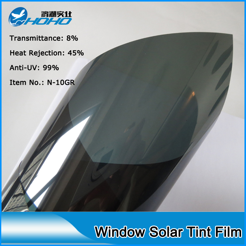 1.52x30m Roll Size High quality Solar control window film Building&Car window tint film Durable PET material 5FTX100FT(China (Mainland))