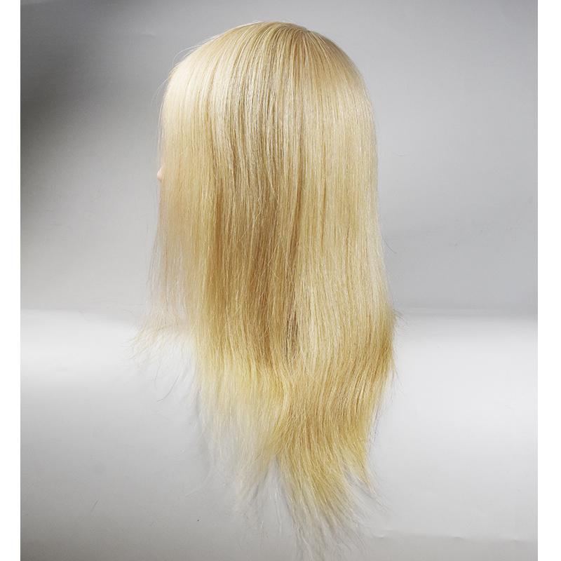 Professional Hair Styling Head Manikin Head With 100 Human Hair Hairdressing Training Heads 100% Human Hair Mannequin Head Sale