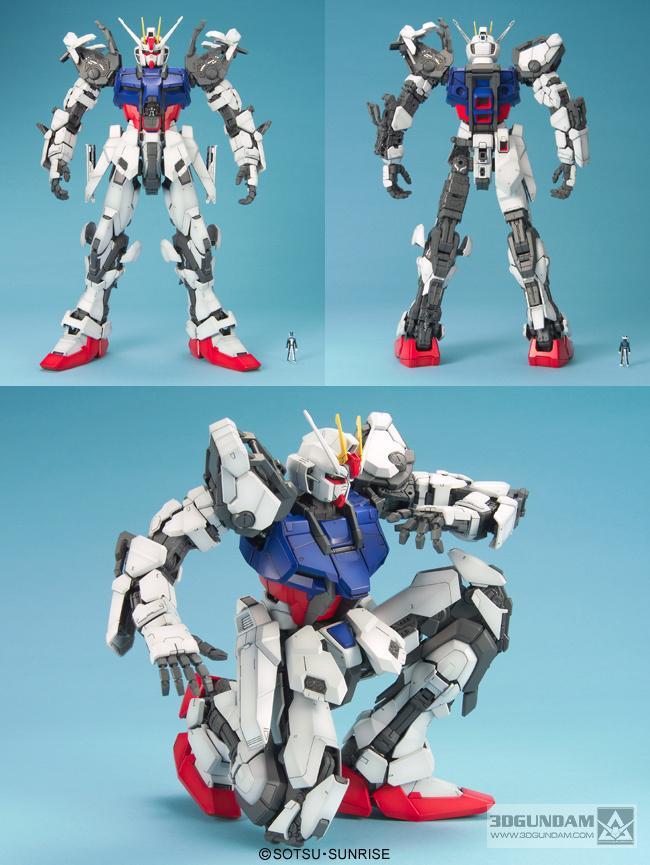 Фотография Brand Daban Top Quality PG 1/60 GAT-X105 Launcher STRIKE GUNDAM with Shield Assemble Model Fight Robot Action ABS Figure Toys