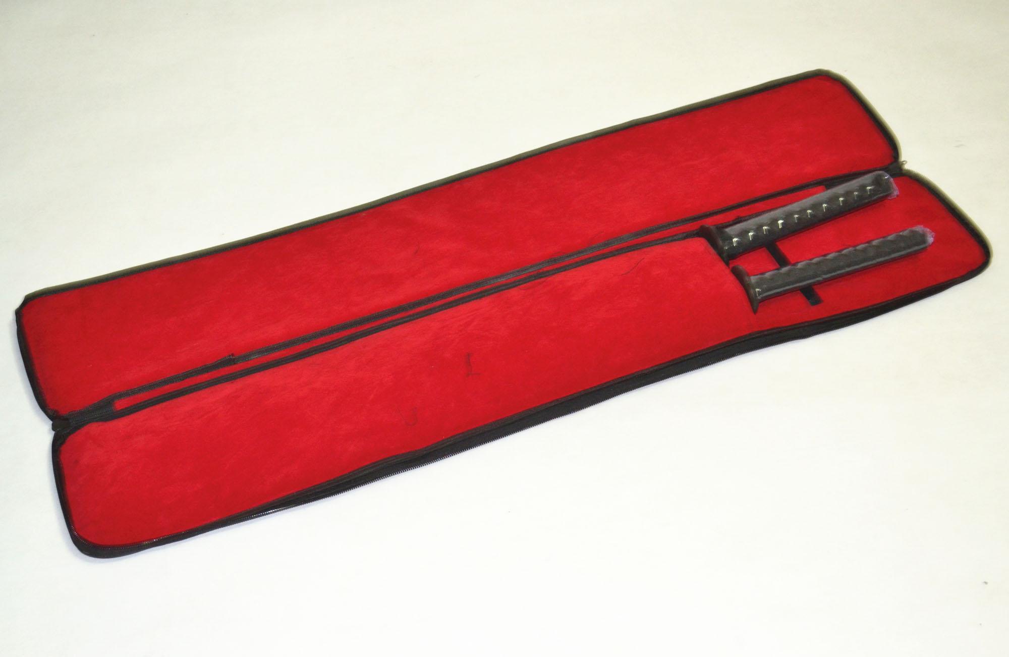 Buy Japan Kendo Aikido Japan  knife bags  High quality Double katana sword bag Sword Bag - Sword Carrying Case Sword master cheap