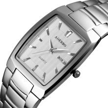 Buy New Men Watches Top Brand Luxury 50m Waterproof Ultra Thin Date Clock Male Steel Strap Casual Quartz Watch Men Wrist Sport Watch for $20.27 in AliExpress store