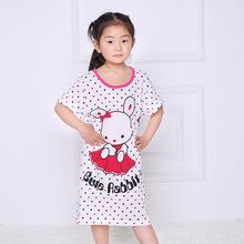 Crianças meninas Pijama Nightie Vestido Dos Desenhos Animados do Sono Wear Camisola Pijama Nightie Vestido de Princesa Frete Grátis
