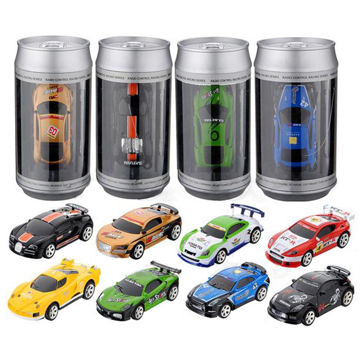 Hot Sale Coke Can Mini RC Car Radio Remote Control Micro Racing Car 4 Frequencies