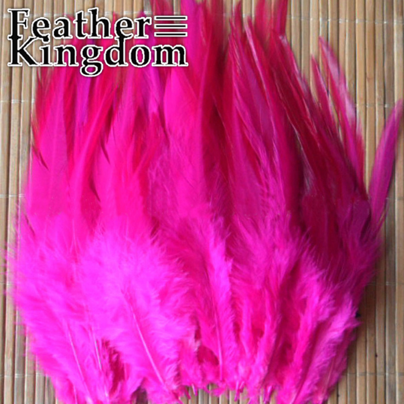 Beautifulof! 100pcs 4-6inch Rose Cock Marabou Chicken Plumes Rooster Feathers for Carnival Dance Ornaments(China (Mainland))