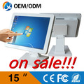 Desktop computer 15 inch intel C1037U 1 8GHz touch screen 1024x768 all in one PC with