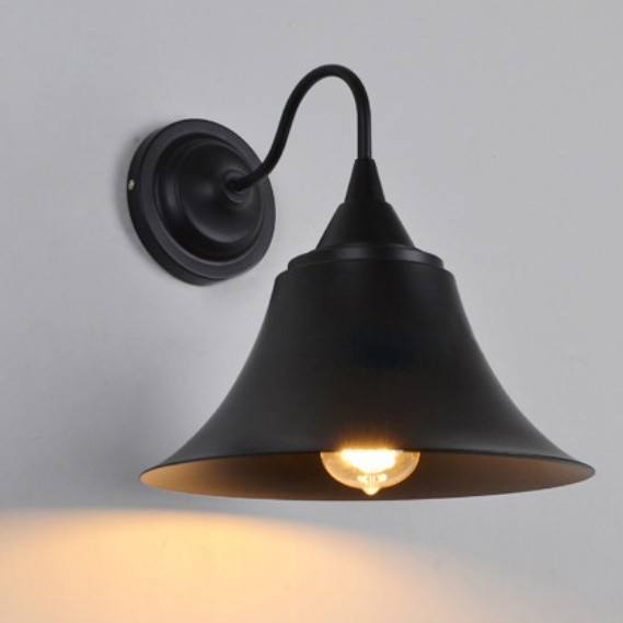 Vintage Edison wall light iron black wall lamp 110V 220V bedroom wall lamp for bar hotel restaurant decoration with bulb<br><br>Aliexpress