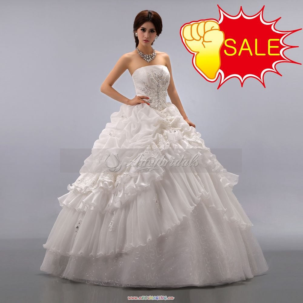 A207beautiful ball gown victorian style to be bride for Wedding dresses ball gown style