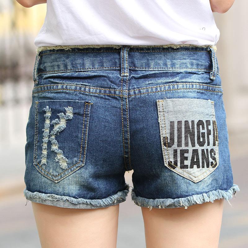 Amazing Summer Sexy Women's Lady Fashion Slim Fit Bore Hole Denim Shorts(China (Mainland))