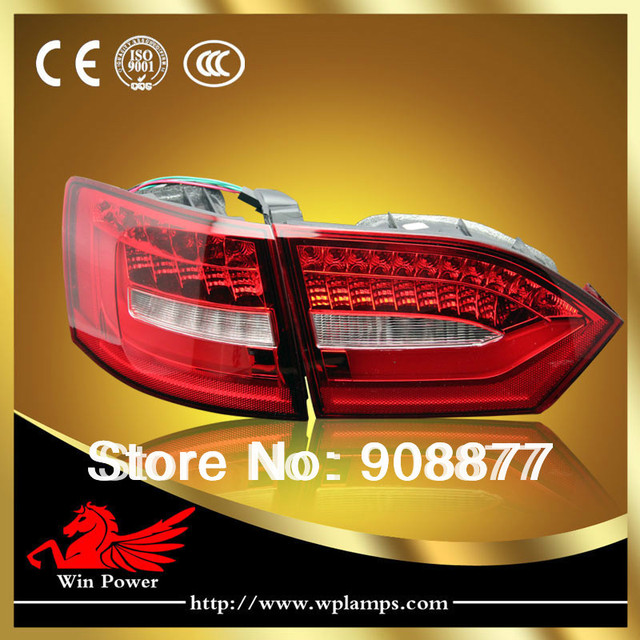 Error free 2011-2014 Volkswagen  Jetta MK6 LED Tail Light,LED Rear Lights  with Turn Light V2 style