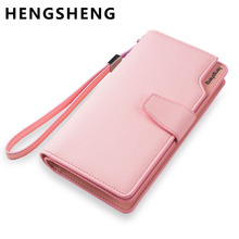 Hot Fashion Female wallets High-quality PU Leather Wallet Women Long Style Cowhide Purse Brand Capacity Clutch Card Holder Pouch(China (Mainland))