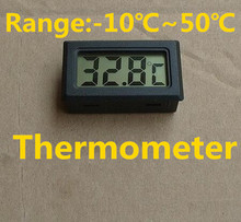 Buy New arrival mini LCD Digital Indoor Temperature Sensor Meter Thermometer Gauge TEMP tester range:-10C~ 50C Refrigerator for $1.29 in AliExpress store