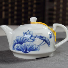 Promotion Ceramic Kung Fu Tea Set With Teapot Gaiwan Set Handpainted Drinkware