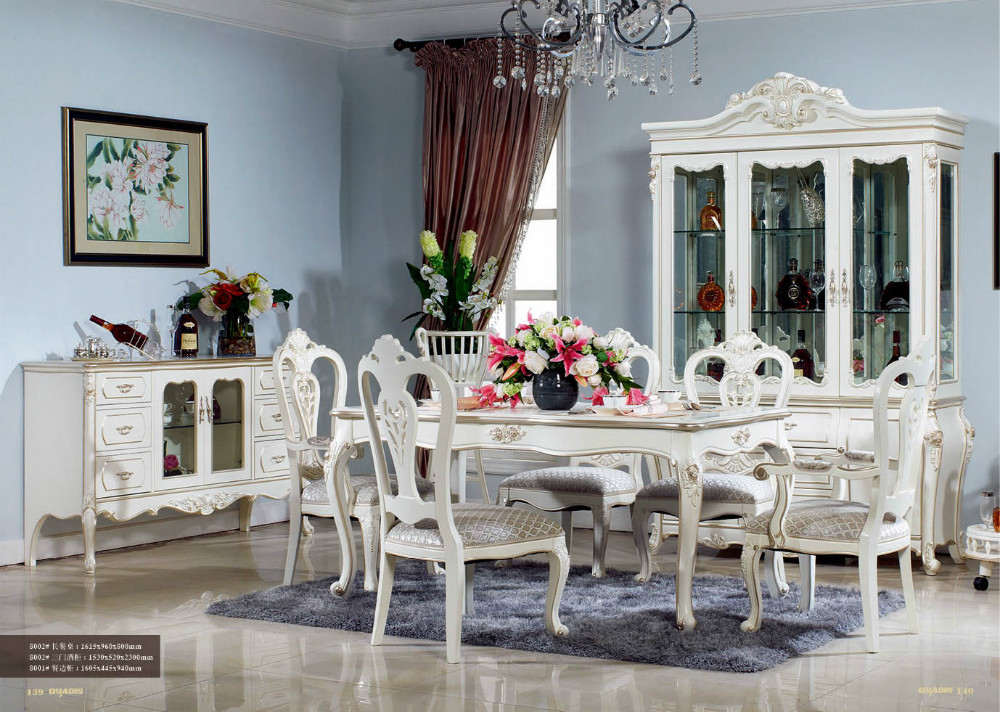 luxury long dining living room furniture in folding tables from