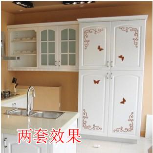 Stickers muraux mode laciness armoire chambre armoire for Sticker porte armoire