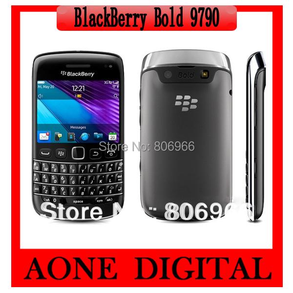Original Refurbished Blackberry Onyx III 9790 Bold 2 Qwerty Keyboard 5Mp camera 3G Smart Phone Free Shipping(China (Mainland))
