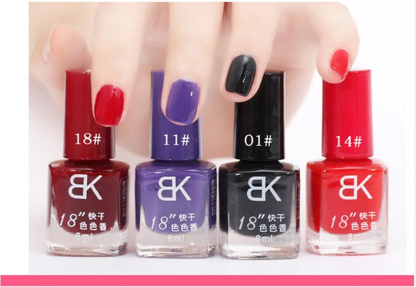 Free Shipping Red Orange Candy Colors UV Gel Nail Paint Polish Top Base Coat Enamel 8ml Cheap Nail Polishes NA-003(China (Mainland))